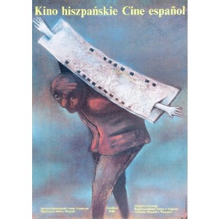 Kino Hiszpańskie Cine Espanol Stasys Eidrigevicius Polskie Plakaty Filmowe