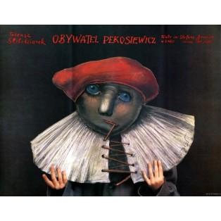 Obywatel Pekosiewicz Stasys Eidrigevicius Polskie Plakaty Teatralne
