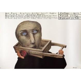 Zwolnieni z życia Stasys Eidrigevicius Polskie Plakaty Filmowe