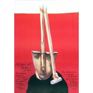 Affiches uit Polen Antwerpen Stasys Eidrigevicius Polskie Plataty Wystawowe