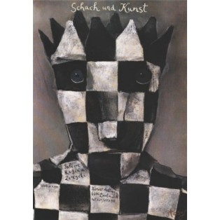 Schach und Kunst Stasys Eidrigevicius Polskie Plataty Wystawowe