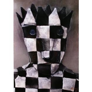 Schach und Kunst Bez tytułu Stasys Eidrigevicius Polskie Plataty Wystawowe