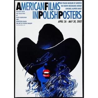 American Films in polish posters Waldemar Świerzy Polskie Plakaty Filmowe