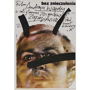 Bez znieczulenia Waldemar Świerzy Polskie Plakaty Filmowe