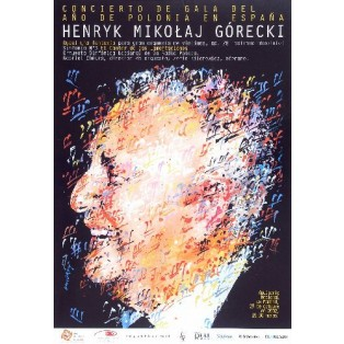 Henryk Mikołaj Górecki Waldemar Świerzy Polskie Plakaty Muzyczne