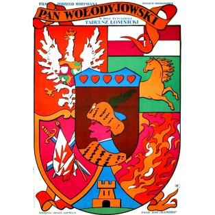 Pan Wołodyjowski Waldemar Świerzy Polskie Plakaty Filmowe