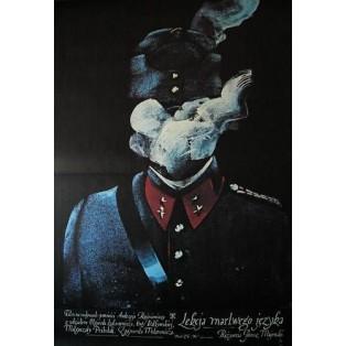 Lekcja martwego języka Waldemar Świerzy Polskie Plakaty Filmowe