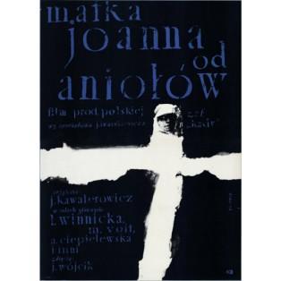 Matka Joanna od Aniołów Jerzy Kawalerowicz Waldemar Świerzy Polskie Plakaty Filmowe