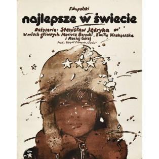 Najlepsze w świecie Stanisław Jędryka Waldemar Świerzy Polskie Plakaty Filmowe