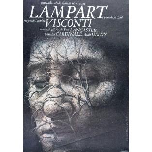 Lampart Luchino Visconti Wiesław Wałkuski Polskie Plakaty Filmowe