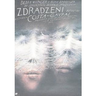 Zdradzeni Costa-Gavras Wiesław Wałkuski Polskie Plakaty Filmowe