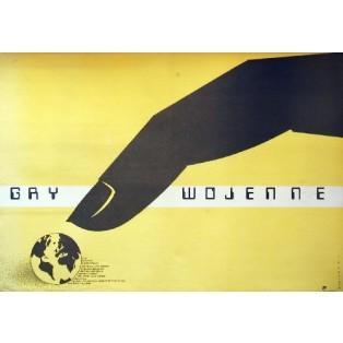 Gry wojenne John Badham Mieczysław Wasilewski Polskie Plakaty Filmowe