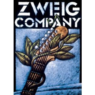 Zweig Company Leszek Wiśniewski Polskie Plakaty