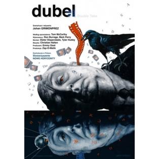 Dubel Leszek Wiśniewski Polskie Plakaty Filmowe