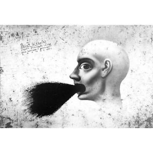 Paint in black, Bramat 2004 Leszek Żebrowski Polskie Plataty Wystawowe