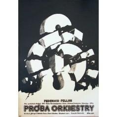 Próba orkiestry Federico Fellini