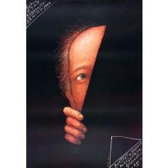 Portret w plakacie Górowskiego