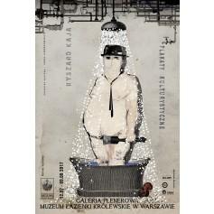 Plakaty kulturystyczne - w Łazienkach Królewskich
