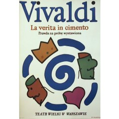 Prawda na próbę wystawiona Vivaldi La verita in cimento