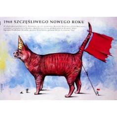 1968. Szczesliwego Nowego Roku Jacek Bromski