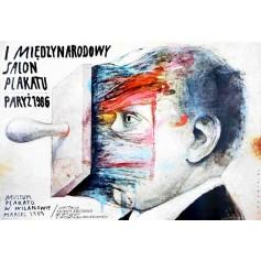 Międzynarodowy salon plakatu Paryż 1986