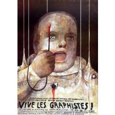 Vive les Graphistes Muzeum Plakatu Wilanów