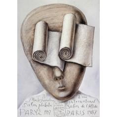 Międzynarodowy salon plakatu Paryż 1987