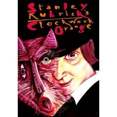 Mechaniczna pomarańcza Stanley Kubrick